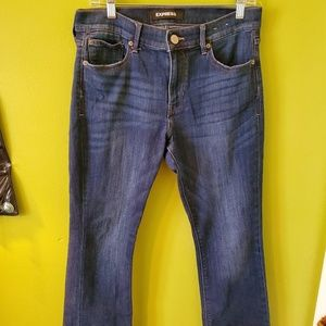 Express Jeans.  Barley Boot Cut, Size 8 Short.